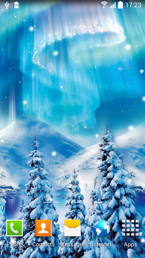 snowfall live wallpaper apk thing android apps free download